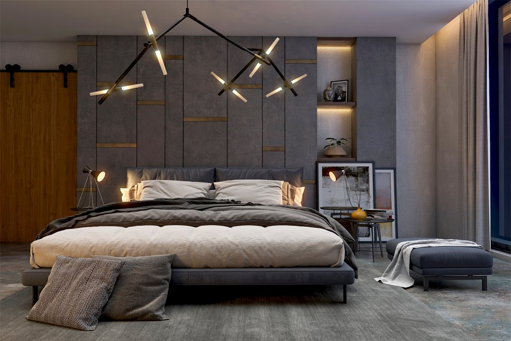 Contemporary Cosy Bedroom